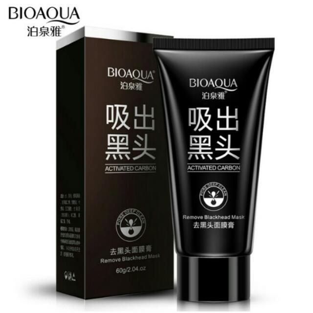BIOAQUA ACTIVED CARBON REMOBED BLACKHEAD 60GR