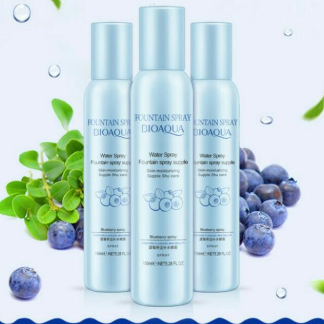 BIOAQUA FOUNTAIN BLUEBERRY SPRAY 150ML