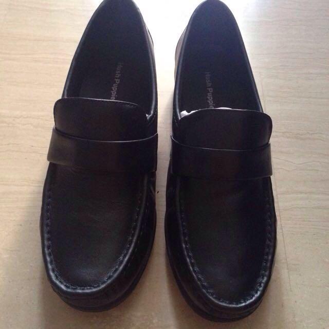 Black Hush Puppies Shoes