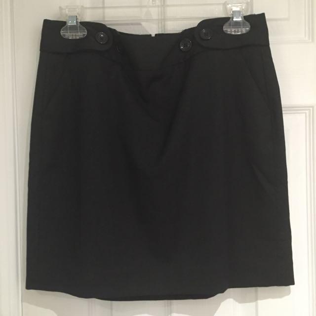 Black Pencil Skirt (short)