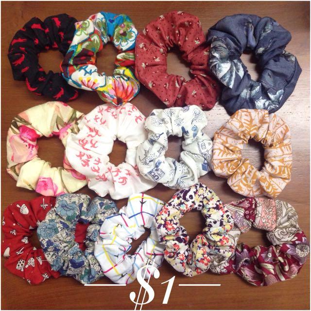 BN Hair Tie Scrunchies c8e3389abfe