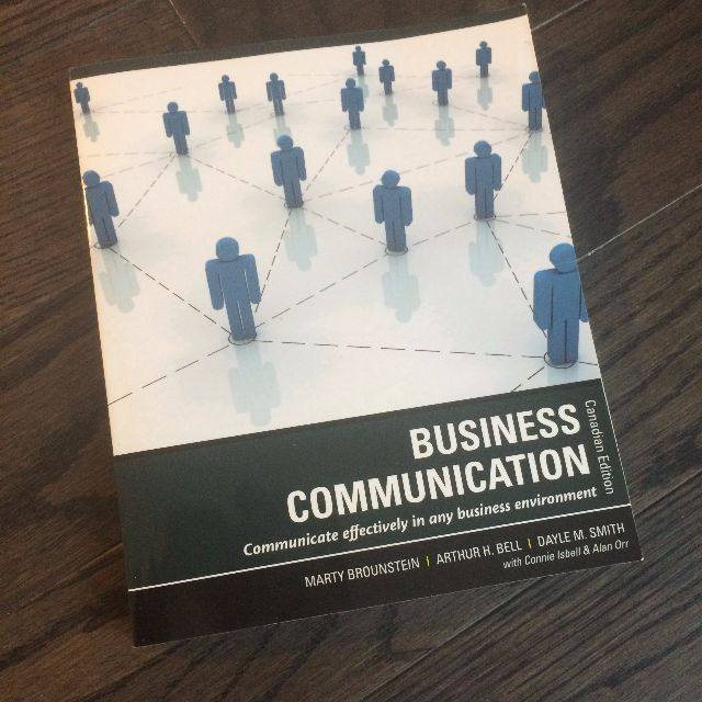 Business Communication Paperback -- 2010 - $29