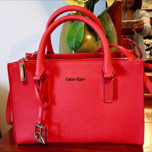 Calvin Klein Scarlett Carry All Satchel