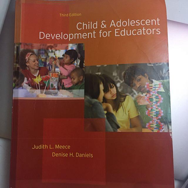 Child & Adolescent Development For Educators 3rd Ed.