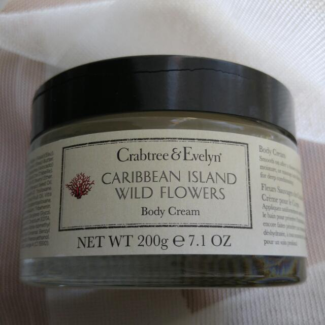 Crabtree Evelyn Body Cream