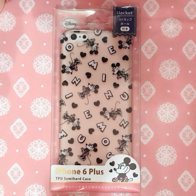 Disney米奇 米妮 I6 plus、i6s plus 手機殼