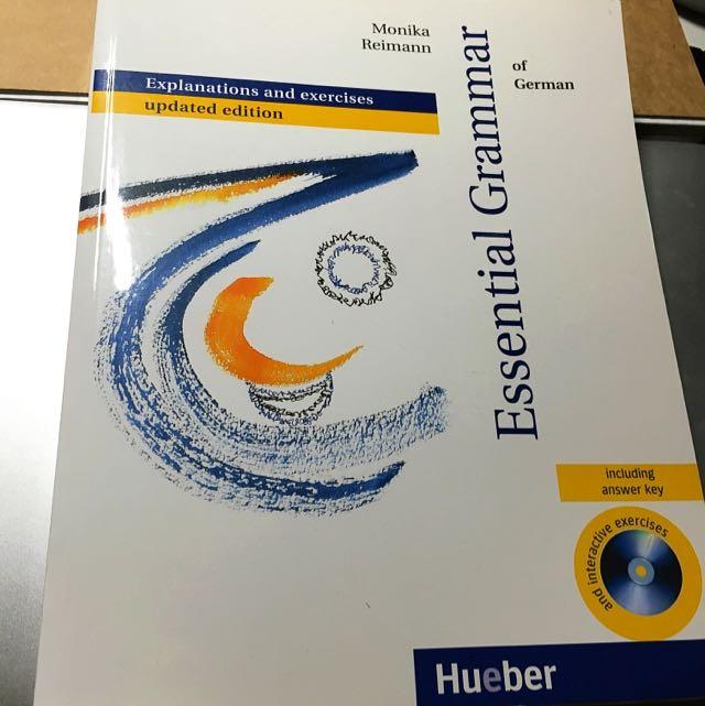 Essential Grammar Of German