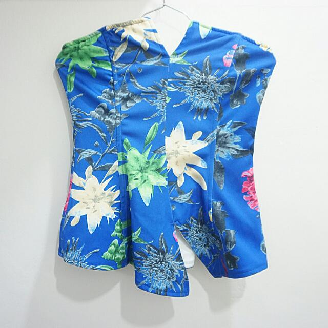 #Buy1Get1Free Floral Wired Tube Top