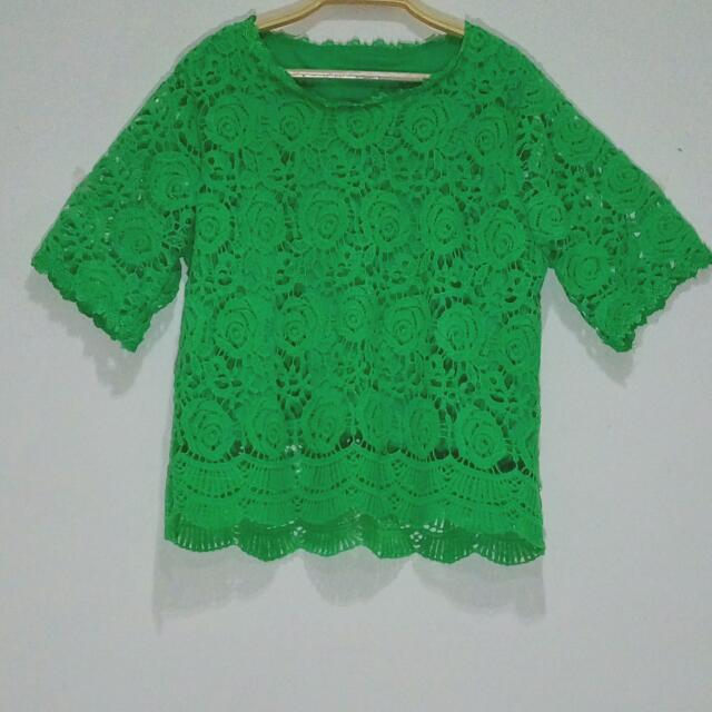 Green Rose Bangkok Lace