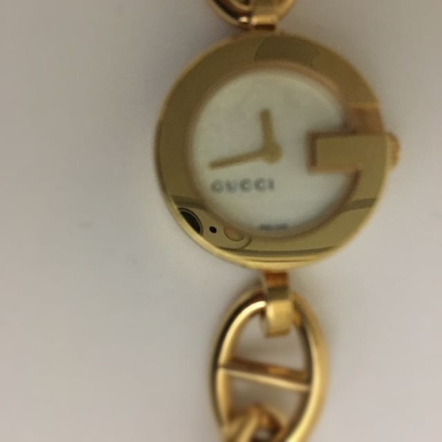 Gucci Golden Bracelet Watch