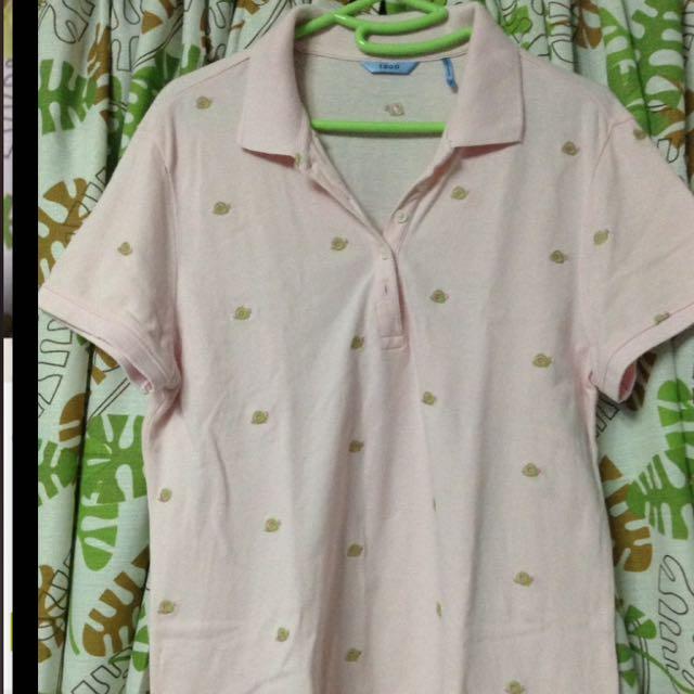 IZOD Polo Shirt Light Pink