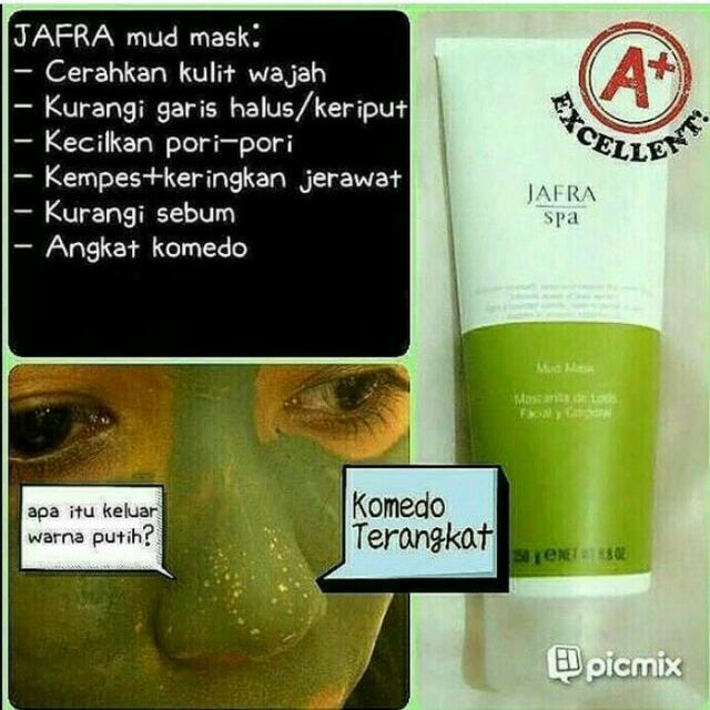 PROMO Ahir Tahun Jafra Mad Mask (Masker Wajah )