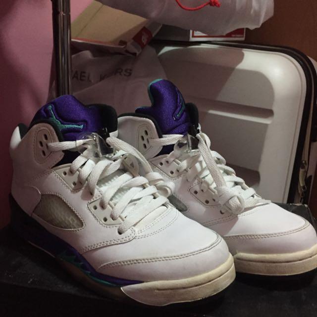 Jordan 4 Grapes