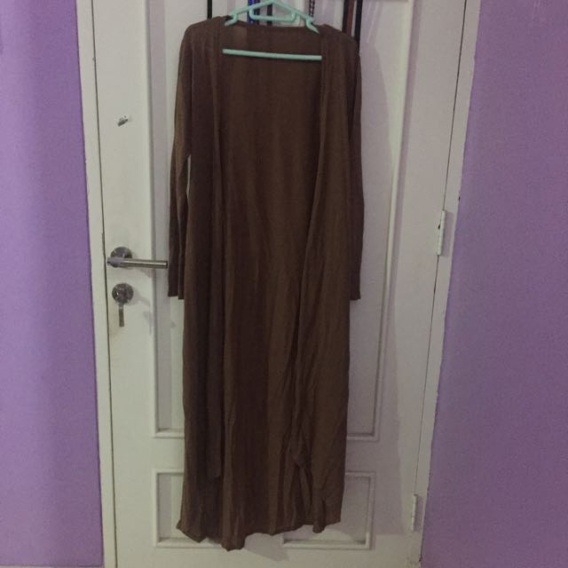 Long Cardigan Brown