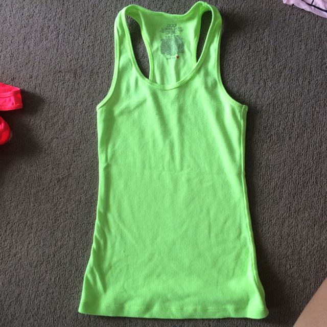 Lorna Jane Ribbed Tank XS