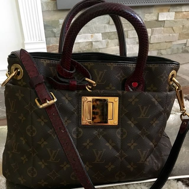 Louis Vuitton Tote Authentic Luxury Handbag