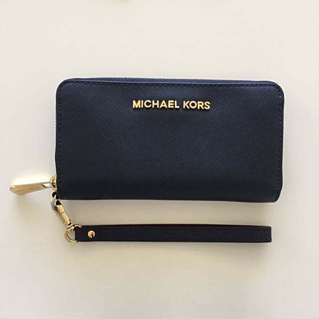Michael Kors Wallet navy Blue