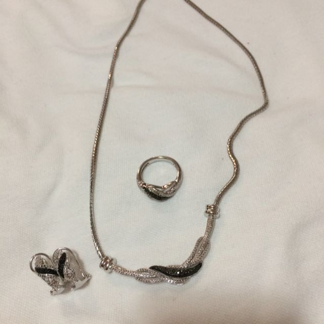 Necklace, Earrings & Ring