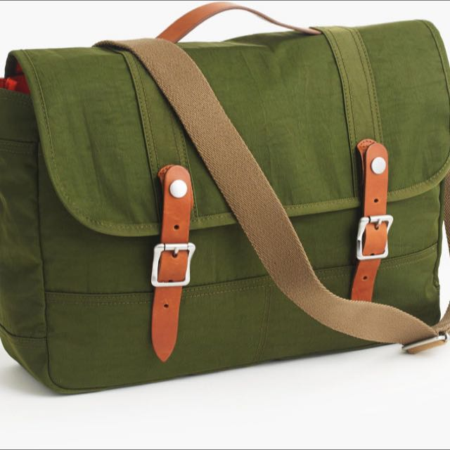 New J.Crew Harwick Messenger Bag