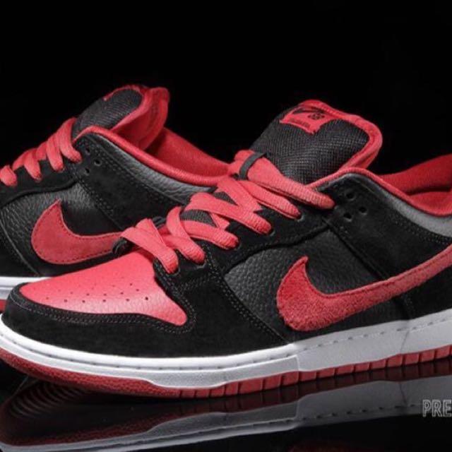 nike sb dunk low preto e rosa