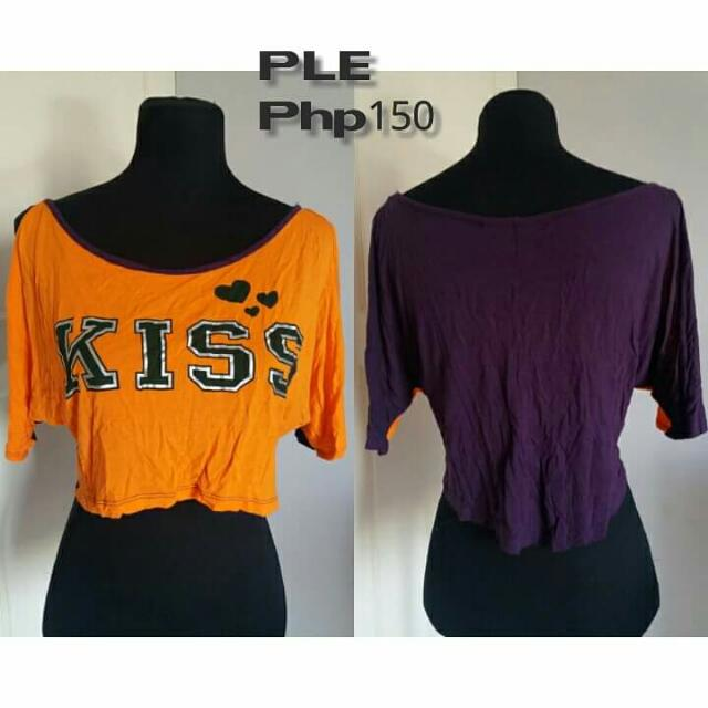People Are People KISS Cropped Top
