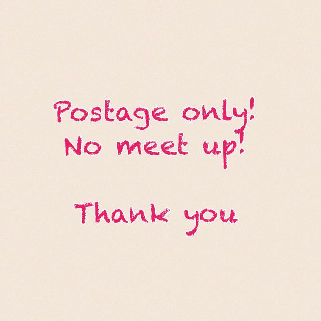 Postage Only