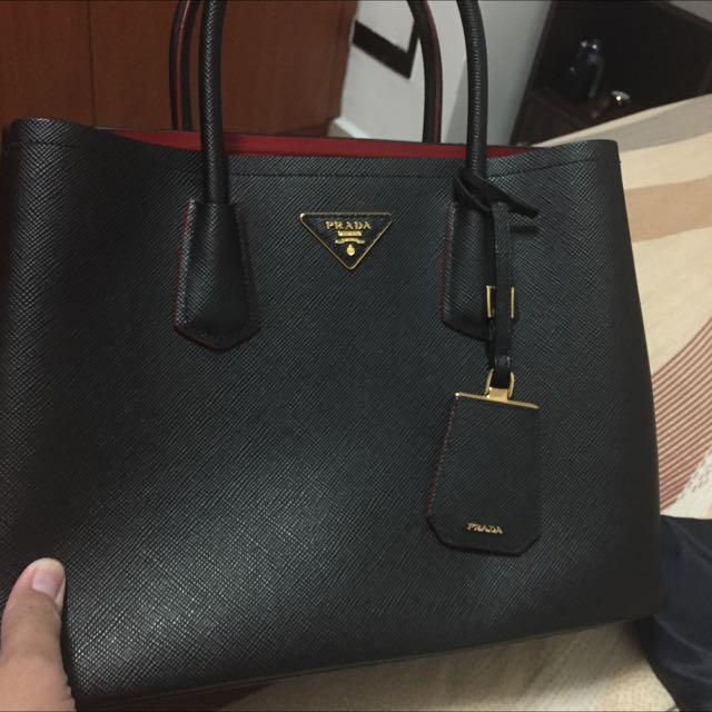 Prada Double Bag Pls Pm Me Your Best