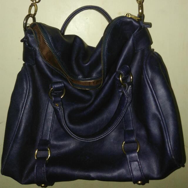 Preloved Hand Bag - Selempang Navy