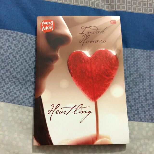 Preloved Novel Heartling By Indah Hanaco