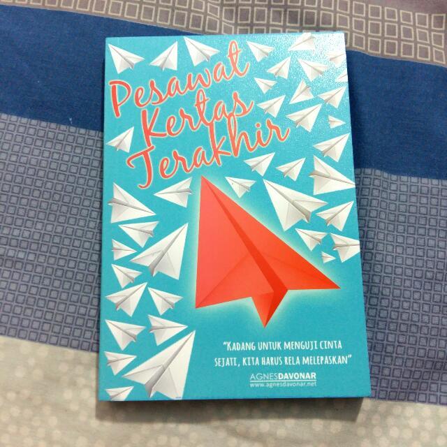 Preloved Novel Pesawat Kertas Terakhir
