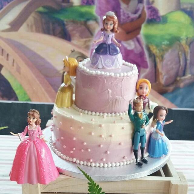 Awe Inspiring Sofia The First Birthday Cake Food Drinks Packaged Snacks On Funny Birthday Cards Online Fluifree Goldxyz