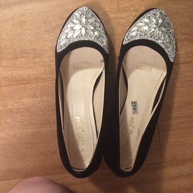 Sparkle Toed Shoes