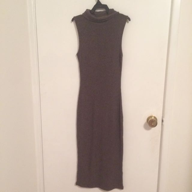 Tight Light Brown Dress