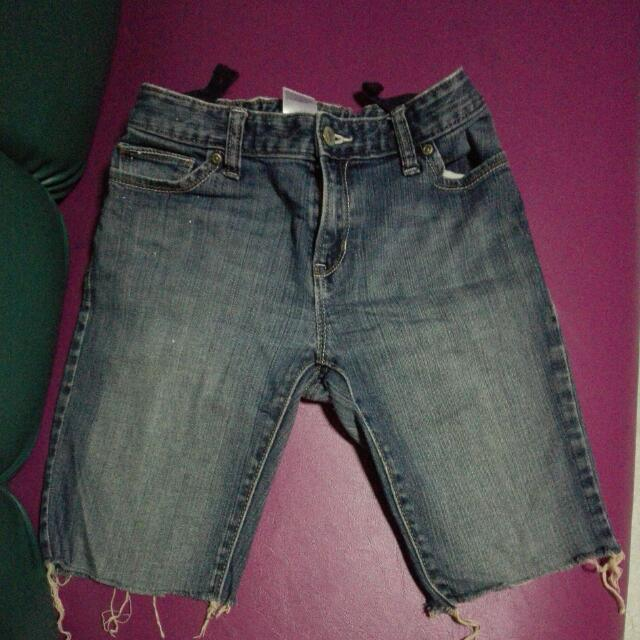 Tokong For Little Girls8-9years Old.. Old Navy Jeans Ng Daughter Ko Pinutol Ko...