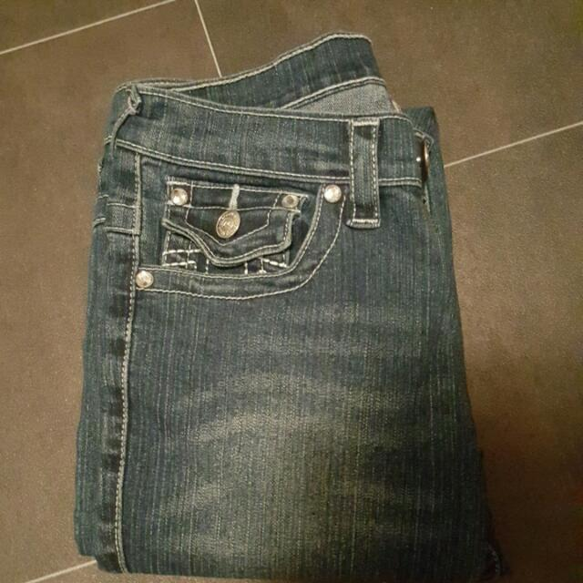 True Religion Jeans US Size 27 (Equivalent NZ 8-9)