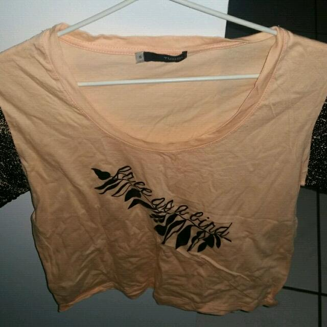Tucci Crop Top. Size S