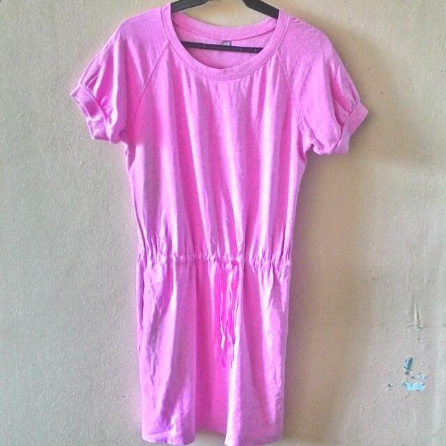 UNI-QLO Pink Dress