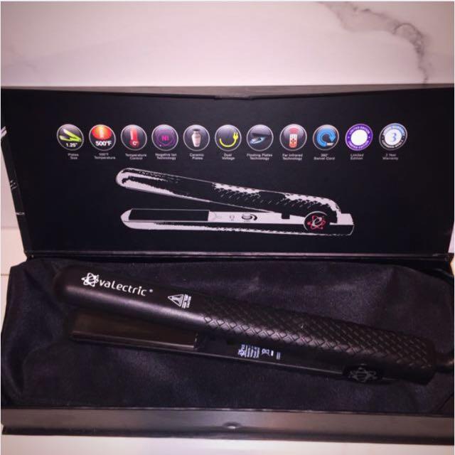 Wet Hair Evalectric Hair Straightener