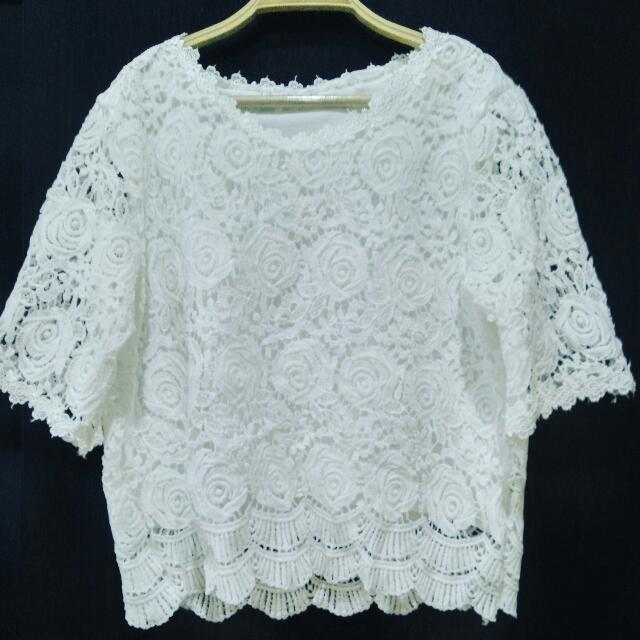 White Rose Bangkok Lace