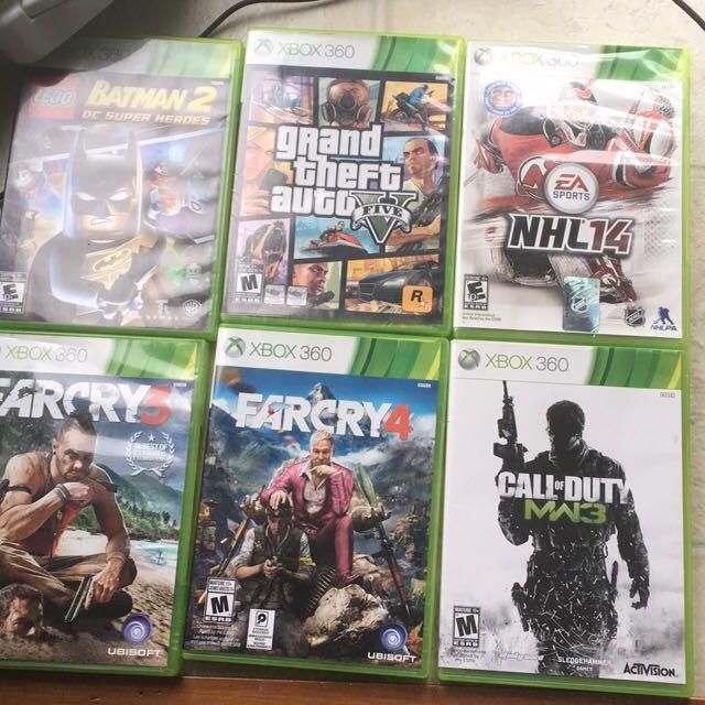 Xbox 360 250gb 11 Games 3 Controller