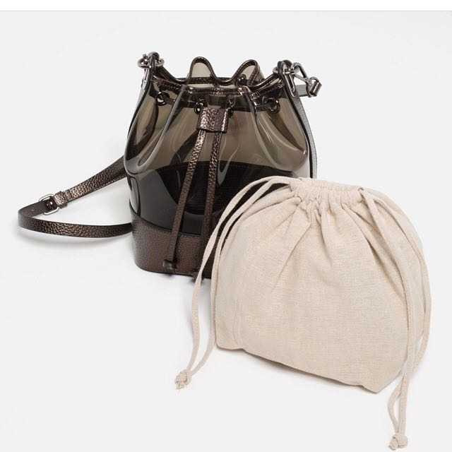 Zara Bucket Transparant