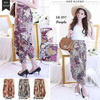 Celana Batik / Celana Murah / Celana Hitz / Batik Lovers / Batik Wanita