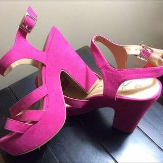 Atmosphere Pink Heels
