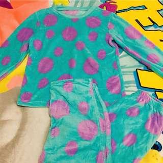 🌸日本 迪士尼 怪獸大學 毛怪蘇利文 居家睡衣
