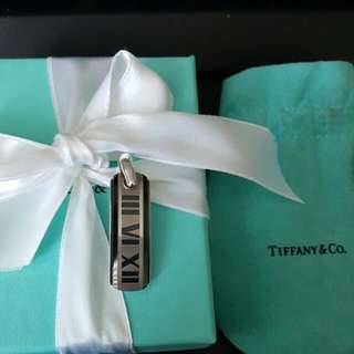 TIFFANY & CO Pendant Only In Silver Titanium