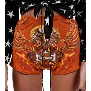 Harley Davidson Shorts Vintage