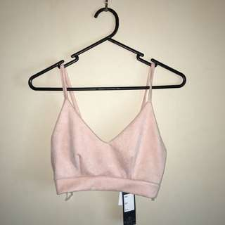 ICE Design Blush Velvet Crop
