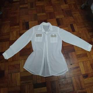 [Repriced]White Blouse