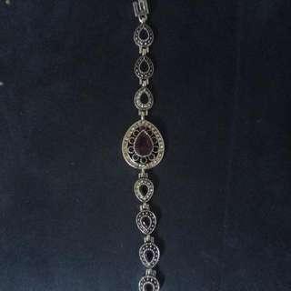 Bracelet Zircon With Silver