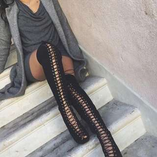 Strapy Boots